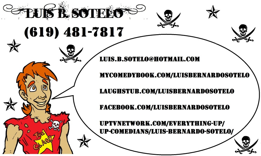 Luis Sotelo - Bussiness Card (Awsome Card Side 2)(JPEG)
