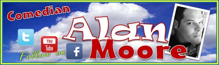 Comedian Alan Moore