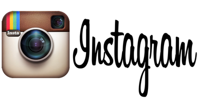 instagram letters and  logo