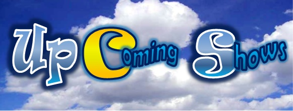 Up Coming Shows Slider Banner April 2014